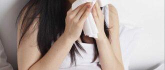 Правильное лечение насморка во время беременности