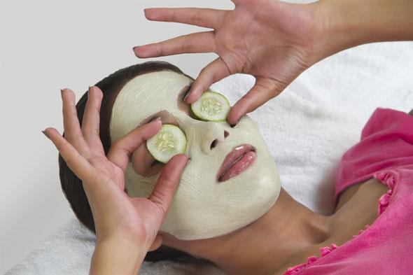 маска с крахмалом от морщин