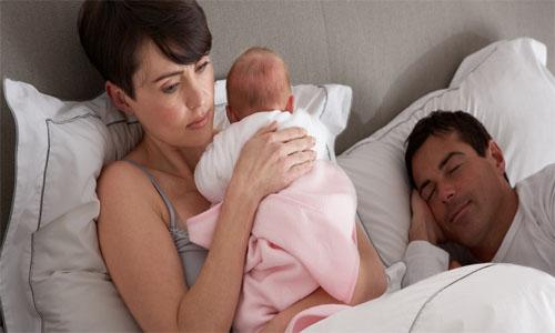 Послеродовой кризис в семейных отношениях