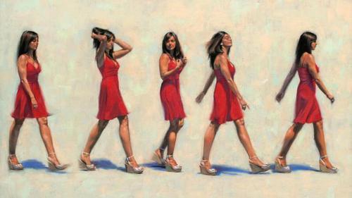 походка рисунок