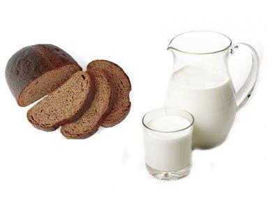 маска хлебная с молоком для роста волос