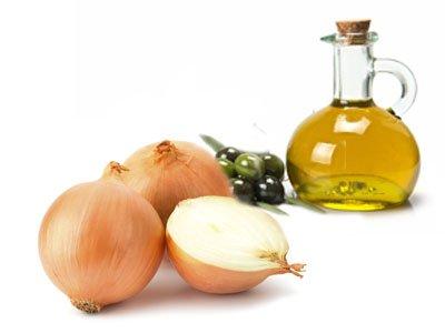 луковая маска с оливковым маслом для роста волос