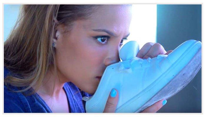 как удалить запах у обуви