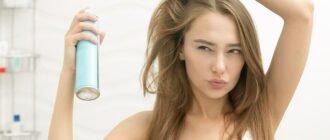 как пользоваться сухим шампунем для волос